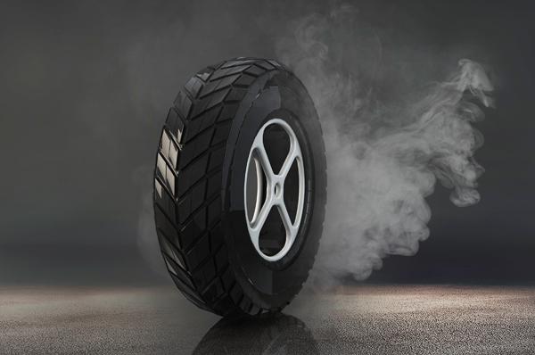 实心轮胎夏季起皮现象的原因